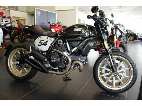 2018 Ducati Scrambler Cafe for sale at Peninsula Motor Vehicle Group in Oakville Ontario NY