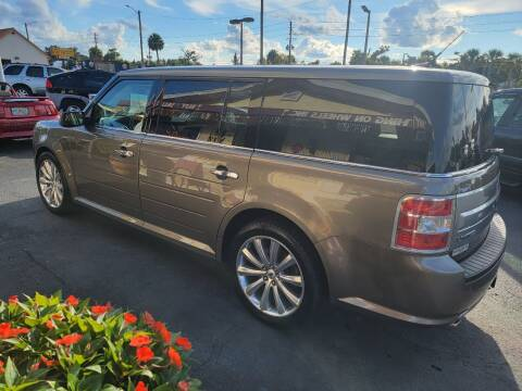 2014 Ford Flex for sale at ANYTHING ON WHEELS INC in Deland FL