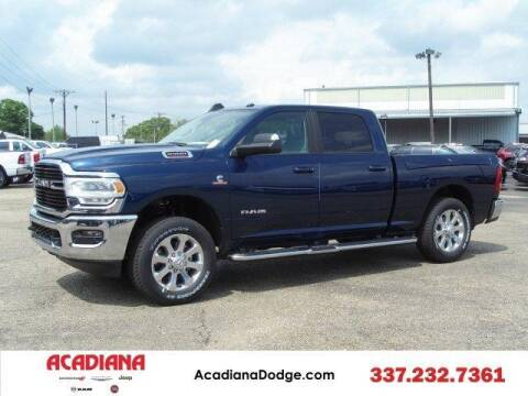 2020 RAM Ram Pickup 2500 for sale at ACADIANA DODGE CHRYSLER JEEP in Lafayette LA