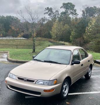 1997 Toyota Corolla for sale at ONE NATION AUTO SALE LLC in Fredericksburg VA