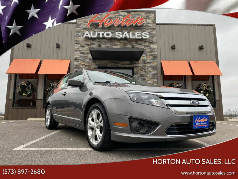 2012 Ford Fusion for sale at HORTON AUTO SALES, LLC in Linn MO