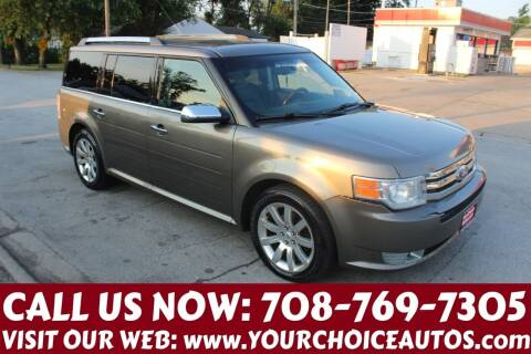 2012 Ford Flex for sale at Your Choice Autos in Posen IL