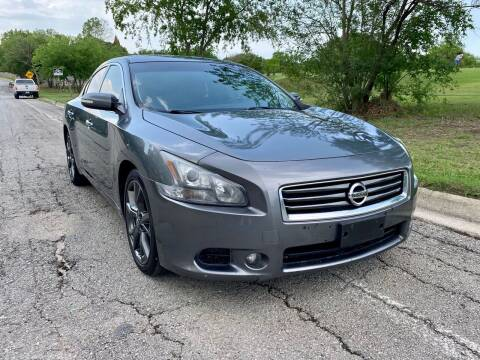2014 Nissan Maxima for sale at Texas Auto Trade Center in San Antonio TX