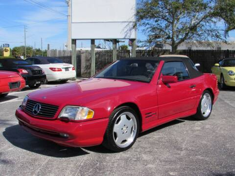 1997 Mercedes-Benz SL-Class for sale at Auto Quest USA INC in Fort Myers Beach FL