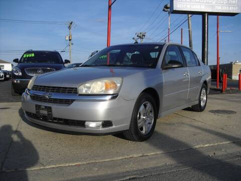 2005 Chevrolet Malibu for sale at Nationwide Auto Group in Melrose Park IL