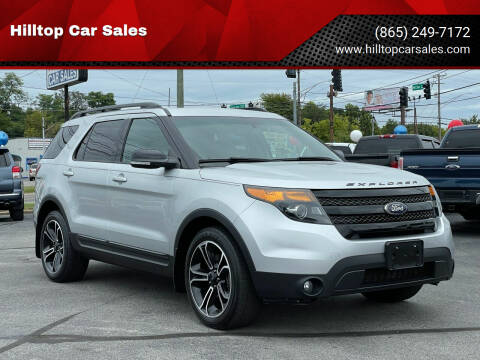 2015 Ford Explorer for sale at Hilltop Car Sales in Knoxville TN