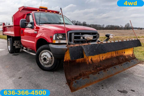 2002 Ford F-450 Super Duty for sale at Fruendly Auto Source in Moscow Mills MO