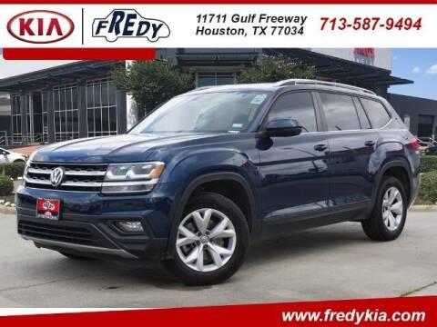 2018 Volkswagen Atlas for sale at FREDY KIA USED CARS in Houston TX