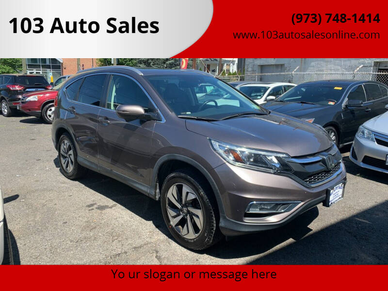 2016 Honda CR-V for sale at 103 Auto Sales in Bloomfield NJ
