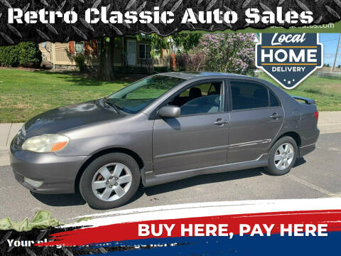2004 Toyota Corolla for sale at Retro Classic Auto Sales - Modern Cars in Spangle WA