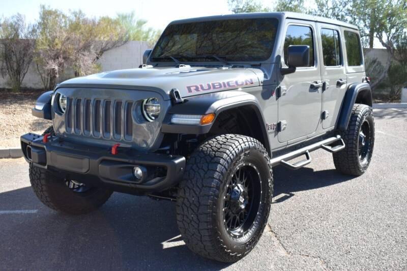 2019 Jeep Wrangler Unlimited for sale at AMERICAN LEASING & SALES in Tempe AZ