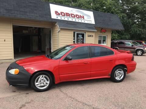 2004 Pontiac Grand Am for sale at Gordon Auto Sales LLC in Sioux City IA
