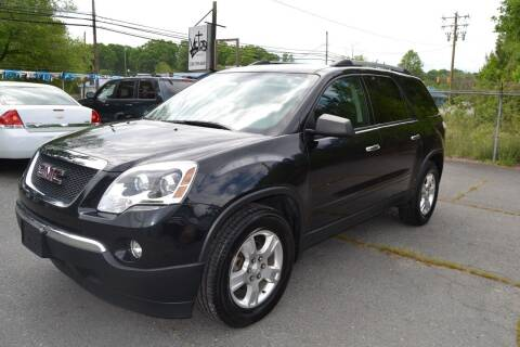 2012 GMC Acadia for sale at Victory Auto Sales in Randleman NC