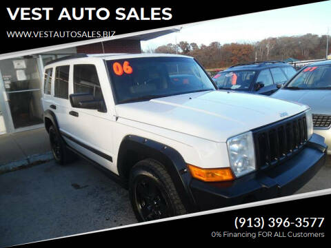 2006 Jeep Commander for sale at VEST AUTO SALES in Kansas City MO