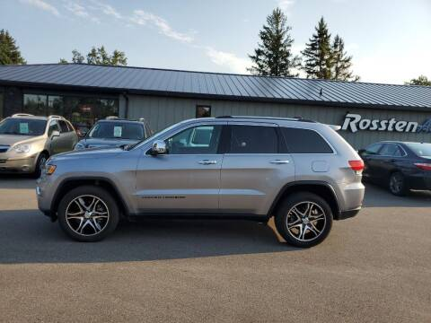 2018 Jeep Grand Cherokee for sale at ROSSTEN AUTO SALES in Grand Forks ND