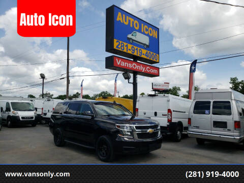 2016 Chevrolet Tahoe for sale at Auto Icon in Houston TX
