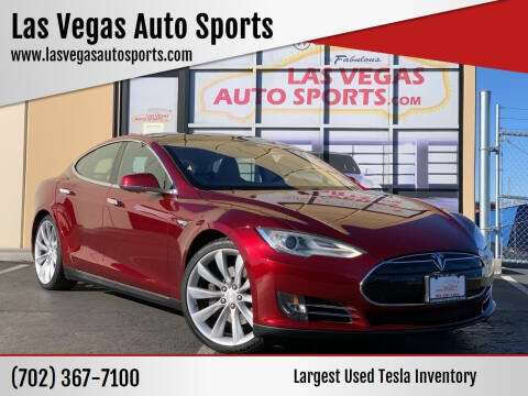 2012 Tesla Model S for sale at Las Vegas Auto Sports in Las Vegas NV