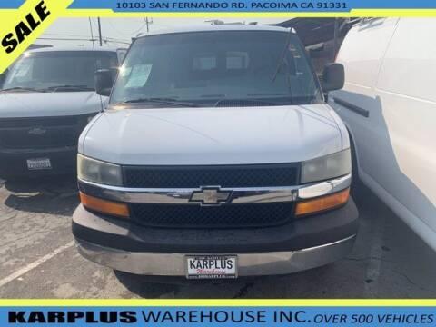 2004 Chevrolet Express Passenger for sale at Karplus Warehouse in Pacoima CA
