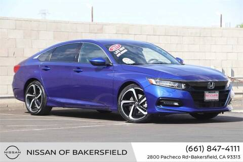 2019 Honda Accord for sale at Nissan of Bakersfield in Bakersfield CA