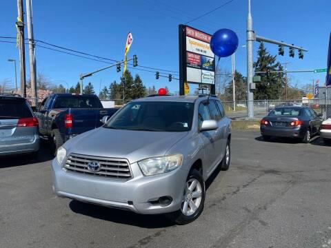 2008 Toyota Highlander for sale at Tacoma Autos LLC in Tacoma WA