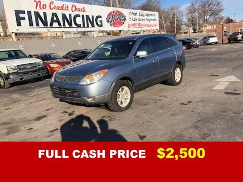 2008 Hyundai Veracruz for sale at Auto Mart USA -Lease To Own in Kansas City MO