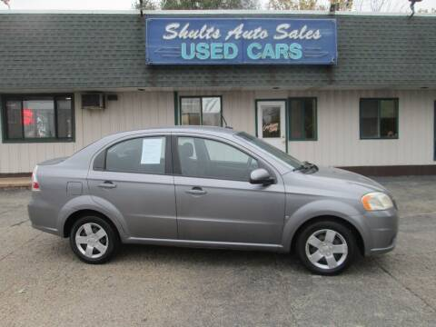 2009 Chevrolet Aveo for sale at SHULTS AUTO SALES INC. in Crystal Lake IL