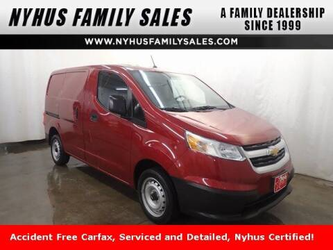 2017 Chevrolet City Express Cargo for sale at Nyhus Family Sales in Perham MN