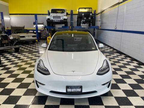2021 Tesla Model 3 for sale at Euro Auto Sport in Chantilly VA