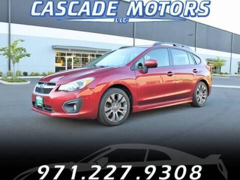 2013 Subaru Impreza for sale at Cascade Motors in Portland OR