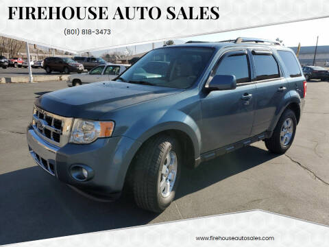 2011 Ford Escape for sale at Firehouse Auto Sales in Springville UT