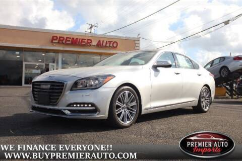 2018 Genesis G80 for sale at PREMIER AUTO IMPORTS - Temple Hills Location in Temple Hills MD