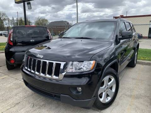 2012 Jeep Grand Cherokee for sale at Martell Auto Sales Inc in Warren MI
