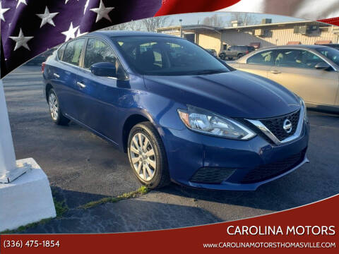 2017 Nissan Sentra for sale at CAROLINA MOTORS in Thomasville NC