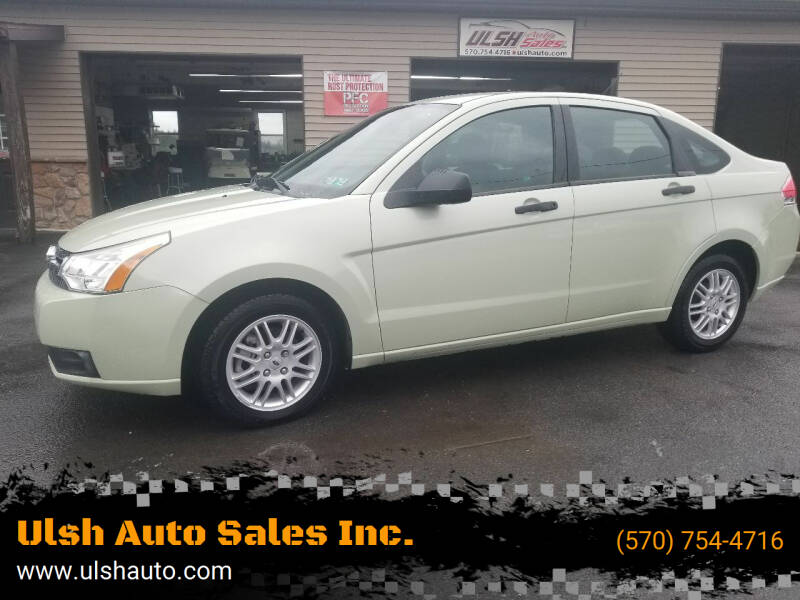 2011 Ford Focus for sale at Ulsh Auto Sales Inc. in Summit Station PA