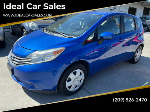 2015 Nissan Versa Note for sale at Ideal Car Sales in Los Banos CA