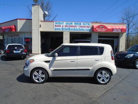 2010 Kia Soul for sale at Bickel Bros Auto Sales, Inc in Louisville KY