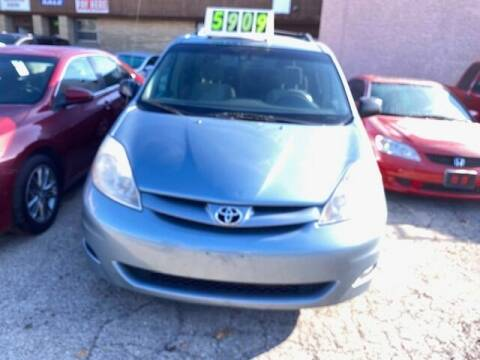 2007 Toyota Sienna for sale at NORTH CHICAGO MOTORS INC in North Chicago IL