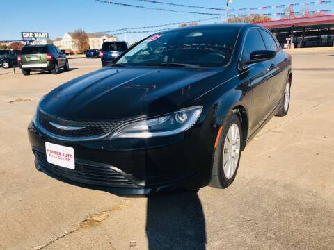 2015 Chrysler 200 for sale at Pioneer Auto in Ponca City OK