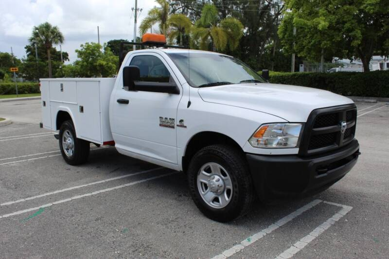 2016 RAM Ram Pickup 3500 for sale at Truck and Van Outlet in Miami FL