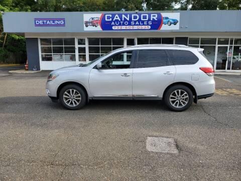 2014 Nissan Pathfinder for sale at CANDOR INC in Toms River NJ