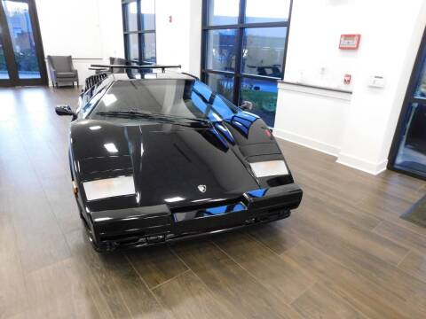 1989 Lamborghini Countach for sale at Shedlock Motor Cars LLC in Warren NJ