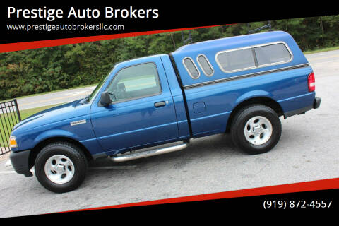 2010 Ford Ranger for sale at Prestige Auto Brokers in Raleigh NC