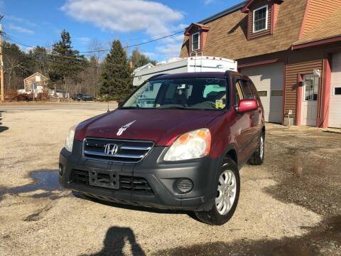 2005 Honda CR-V for sale at Hornes Auto Sales LLC in Epping NH