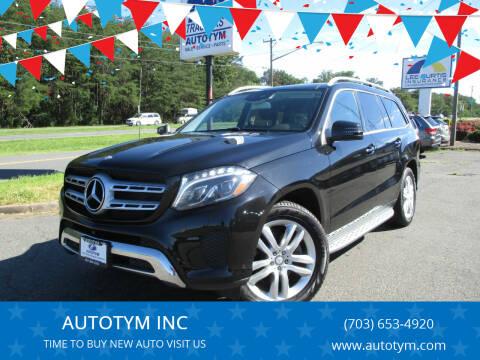 2017 Mercedes-Benz GLS for sale at AUTOTYM INC in Fredericksburg VA