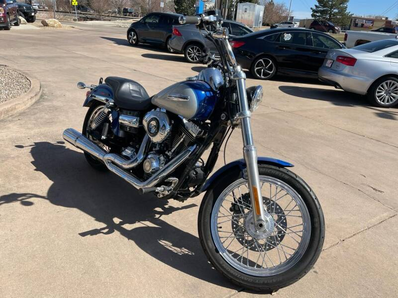 2010 HARLEYDAVIDSON DYNASUPERGLIDE for sale at AP Auto Brokers in Longmont CO
