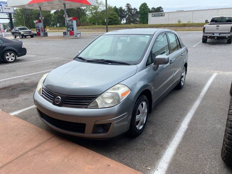 2008 Nissan Versa for sale at S & H AUTO LLC in Granite Falls NC