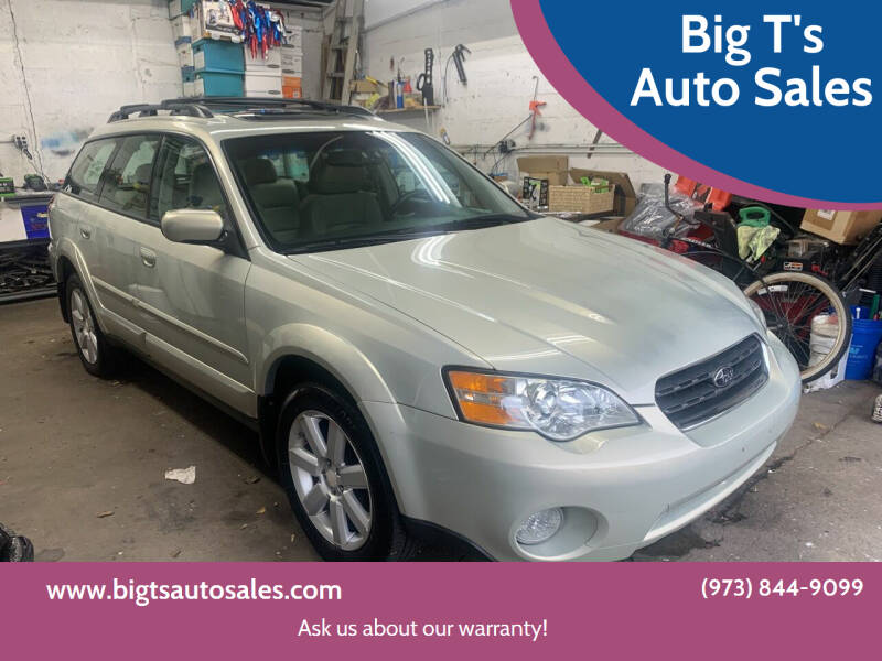 2007 Subaru Outback for sale at Big T's Auto Sales in Belleville NJ