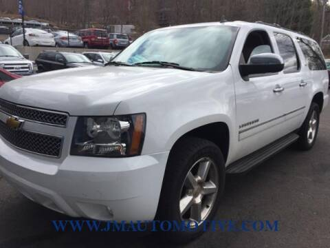 2012 Chevrolet Suburban for sale at J & M Automotive in Naugatuck CT