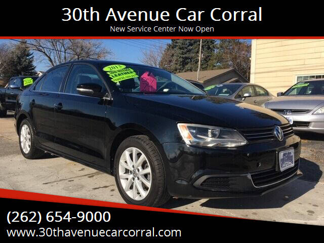 2013 Volkswagen Jetta for sale at 30th Avenue Car Corral in Kenosha WI