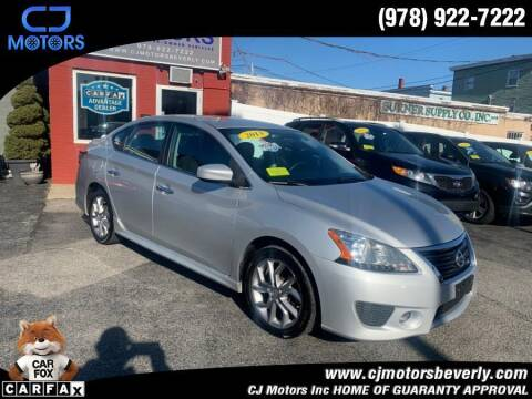 2013 Nissan Sentra for sale at CJ Motors Inc. in Beverly MA